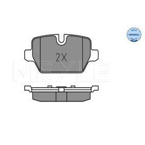 0252362316 Bremsbeläge MEYLE MBP0408 - Große Auswahl - stark reduziert