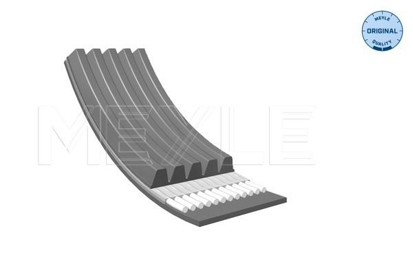 OPEL GT 2010 Rippenriemen - Original MEYLE 050 005 1025 Rippenanzahl: 5, Länge: 1025mm