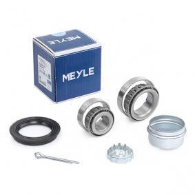 MWK0075 MEYLE Hinterachse beidseitig, mit Anbaumaterial, MEYLE-ORIGINAL Quality Radlagersatz 100 598 0101 günstig kaufen