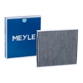 MCF0093 MEYLE Aktivkohlefilter, Filtereinsatz, ORIGINAL Quality Breite: 216mm, Höhe: 30mm, Länge: 248mm Filter, Innenraumluft 112 320 0003 günstig kaufen