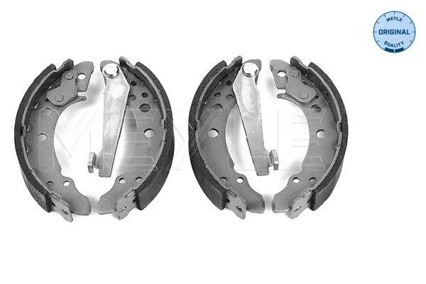 MBS0020 MEYLE Hinterachse, Ø: 180mm, mit Hebel, ohne Feder, ORIGINAL Quality Breite: 30mm Bremsbackensatz 114 042 0502 günstig kaufen