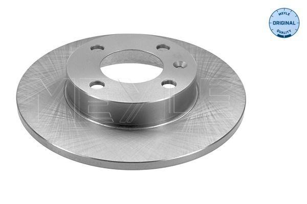 MEYLE 115 521 1005 (Ø: 239mm, Nbre de trous: 4, Épaisseur du disque de frein: 10mm) : Disques de frein VW Polo 86c 1989