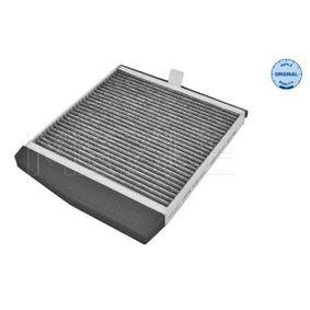 MCF0373 MEYLE Aktivkohlefilter, Filtereinsatz, ORIGINAL Quality Breite: 239mm, Höhe: 39mm, Länge: 269mm Filter, Innenraumluft 512 320 0000 günstig kaufen