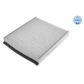 MCF0419 MEYLE Partikelfilter, Filterinsats, ORIGINAL Quality B: 209mm, H: 34mm, L: 234mm Filter, kupéventilation 712 319 0010 köp lågt pris