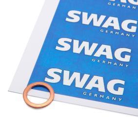 Koop en vervang Afdichtring, olie aftapstop SWAG 20 92 7532