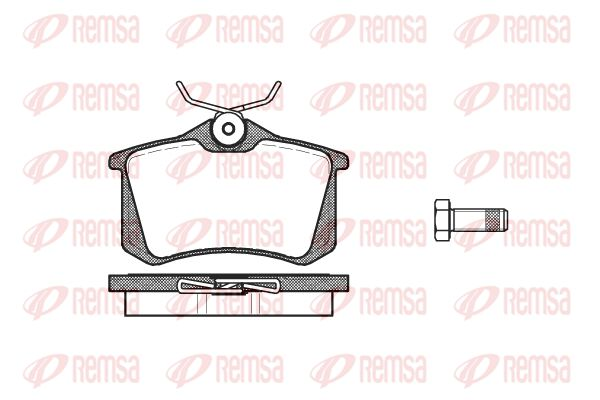 Bremsklötze REMSA 0263.10