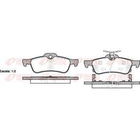 BPM086202 REMSA Hinterachse, inkl. Verschleißwarnkontakt, mit Klebefolie, mit Zubehör, mit Feder Höhe: 43,7mm, Dicke/Stärke: 14,5mm Bremsbelagsatz, Scheibenbremse 0862.02 günstig kaufen