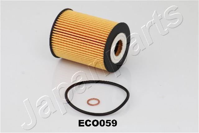 FO-ECO059 JAPANPARTS Filtereinsatz Innendurchmesser: 26mm, Ø: 63mm, Länge: 83mm, Länge: 83mm Ölfilter FO-ECO059 günstig kaufen