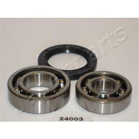 Compre e substitua Jogo de rolamentos de roda JAPANPARTS KK-24003