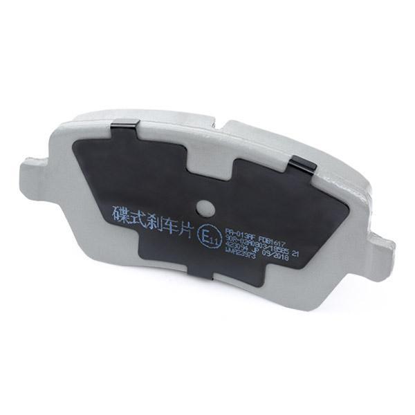 PA-013AF Bremsbelagsatz JAPANPARTS - Markenprodukte billig