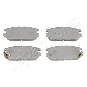 PP-510AF JAPANPARTS Hinterachse Höhe: 46,3mm, Dicke/Stärke: 14,9mm Bremsbelagsatz, Scheibenbremse PP-510AF günstig kaufen