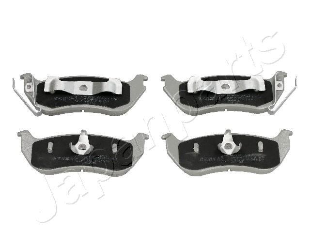 PP-904AF JAPANPARTS Hinterachse Höhe: 46,5mm, Dicke/Stärke: 15mm Bremsbelagsatz, Scheibenbremse PP-904AF günstig kaufen