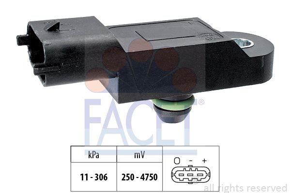 FACET Sensor, Ladedruck 10.3121