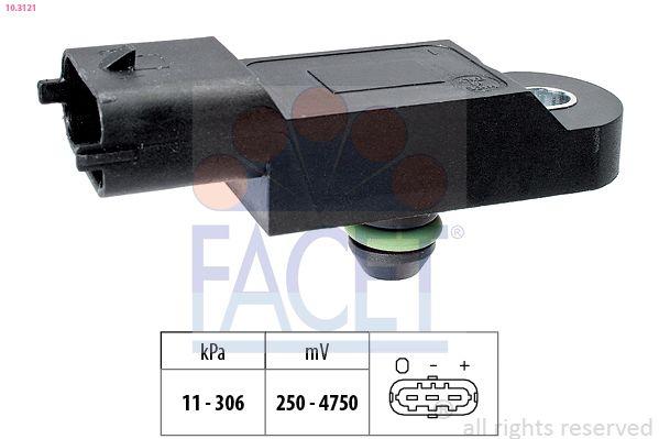 KW493121 FACET Made in Italy - OE Equivalent Luftdrucksensor, Höhenanpassung 10.3121 günstig kaufen