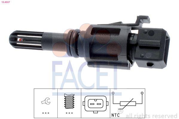 Original TOYOTA Sensor, Ansauglufttemperatur 10.4027