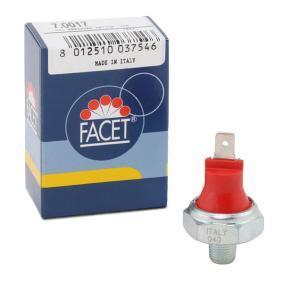 Aγοράστε και αντικαταστήστε τα Διακόπτης πίεσης λαδιού FACET 7.0017