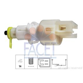 buy and replace Brake Light Switch FACET 7.1108