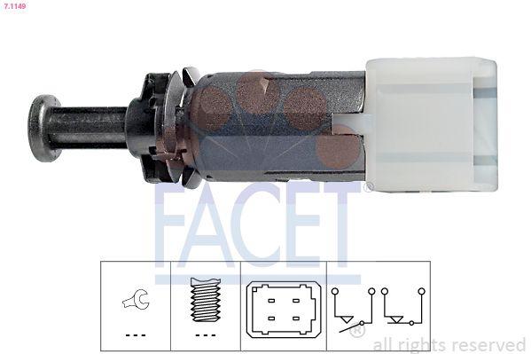 KW510149 FACET Made in Italy - OE Equivalent Bremslichtschalter 7.1149 günstig kaufen