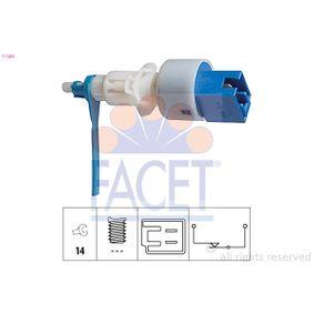 KW510203 FACET Made in Italy - OE Equivalent Schalter, Kupplungsbetätigung (GRA) 7.1203 günstig kaufen