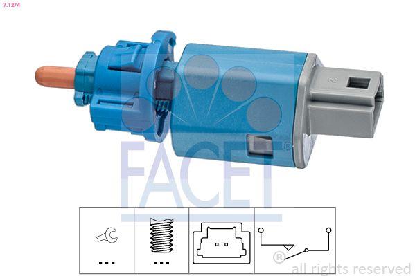 KW510274 FACET Made in Italy - OE Equivalent Schalter, Kupplungsbetätigung (GRA) 7.1274 günstig kaufen