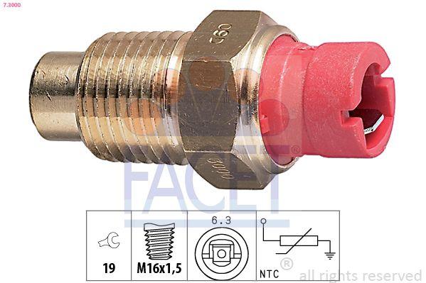 Acquistare ricambi originali FACET Sensore, Temperatura refrigerante 7.3000