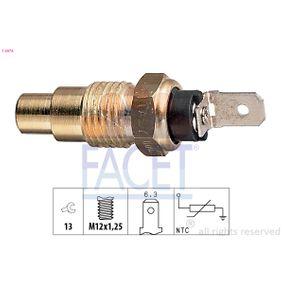 KW530078 FACET Made in Italy - OE Equivalent SW: 13 Sensor, Kühlmitteltemperatur 7.3078 günstig kaufen