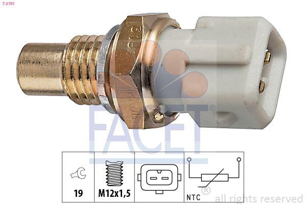 OE Original Kühlmitteltemperatursensor 7.3191 FACET