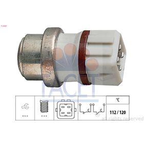 temperatūros jungiklis, aušinimo skysčio įspėjimo lemputė 7.4107 su puikiu FACET kainos/kokybės santykiu