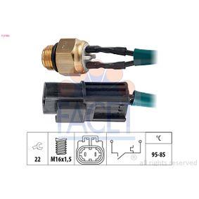 KW550100 FACET Made in Italy - OE Equivalent Temperaturschalter, Kühlerlüfter 7.5100 günstig kaufen