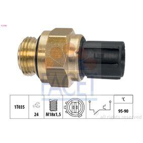 Przełącznik termiczny, wentylator chłodnicy FACET 7.5196 kupić i wymienić