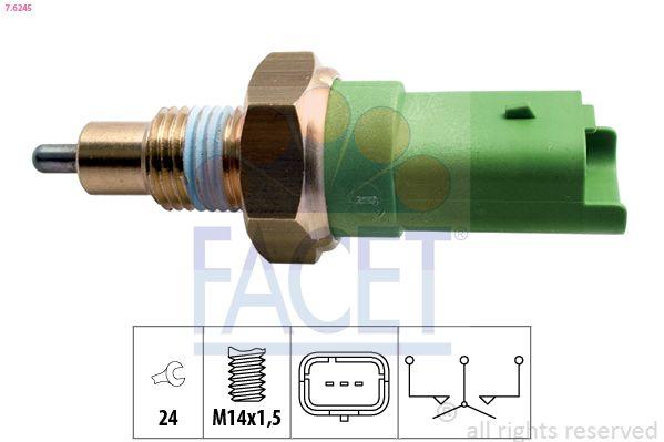 KW560245 FACET Made in Italy - OE Equivalent SW: 24 Schalter, Rückfahrleuchte 7.6245 günstig kaufen