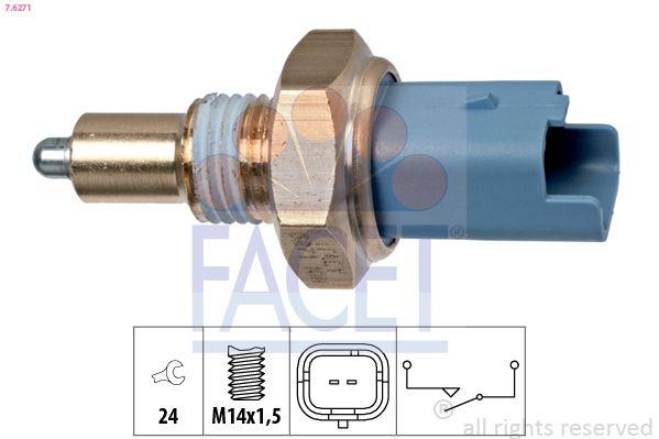 FACET: Original Schalter Rückfahrleuchte 7.6271 (SW: 24)