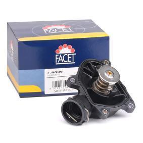 KW580636 FACET Öffnungstemperatur: 88°C, integriertes Gehäuse, Made in Italy - OE Equivalent Thermostat, Kühlmittel 7.8636 günstig kaufen