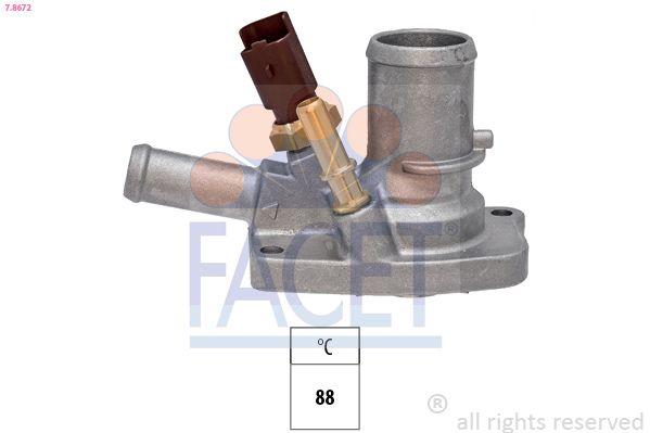 FACET Thermostat, Kühlmittel 7.8672