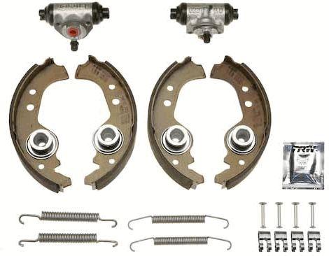Original FIAT Bremsklötze für Trommelbremse BK1401