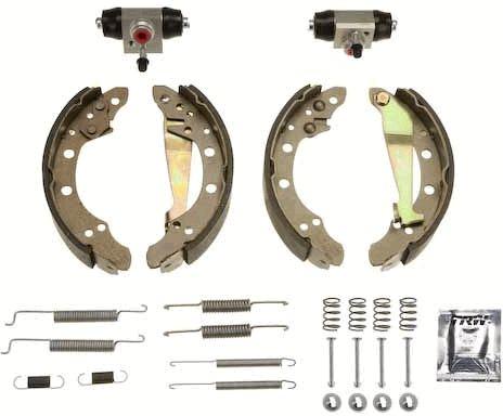 Original AUDI Bremsbacken für Trommelbremse BK1510