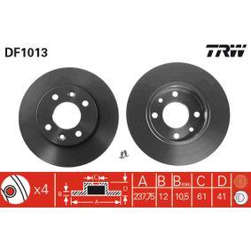 DF1013 Bremsscheibe TRW - Markenprodukte billig