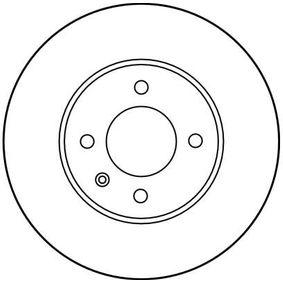 DF1533 Bremsscheiben TRW DF1533 - Große Auswahl - stark reduziert