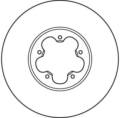 DF2390S Спирачен диск TRW - на по-ниски цени