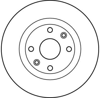 DF2586 Bremsscheibe TRW Test