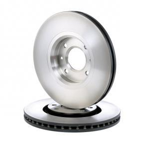 DF4183 TRW ventilerad, lackerad, höguppkolat Ø: 283mm, Hålant.: 4, Bromsskivetjocklek: 26mm Bromsskiva DF4183 köp lågt pris