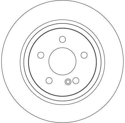 DF4263 Bremsscheibe TRW in Original Qualität