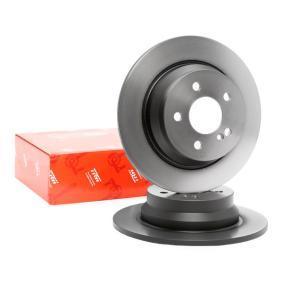 DF4263 TRW Voll, lackiert Ø: 300mm, Lochanzahl: 5, Bremsscheibendicke: 10mm Bremsscheibe DF4263 günstig kaufen