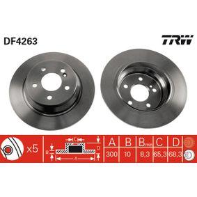 DF4263 Bremsscheibe TRW Erfahrung