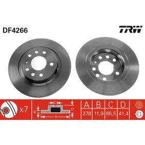 Remschijf DF4266 met een korting — koop nu!