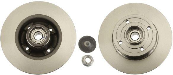 Achetez Disque TRW DF4274BS (Ø: 240mm, Nbre de trous: 4, Épaisseur du disque de frein: 8mm) à un rapport qualité-prix exceptionnel