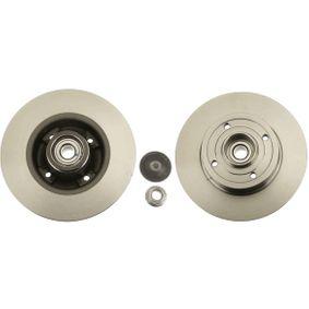 DF4274BS TRW Voll, mit Radlager, mit ABS-Sensorring Ø: 240mm, Lochanzahl: 4, Bremsscheibendicke: 8mm Bremsscheibe DF4274BS günstig kaufen