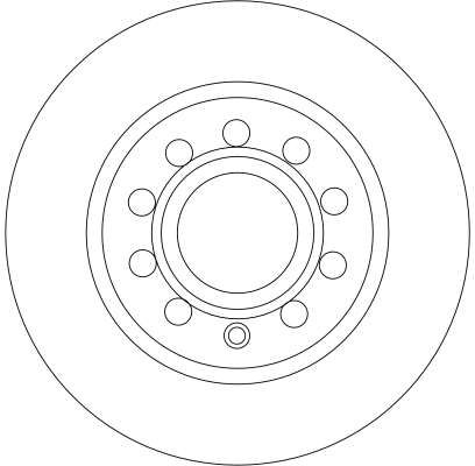 DF4276 Bremsscheibe TRW Test