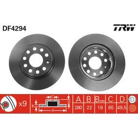 DF4294 Discos de Freno TRW - Experiencia en precios reducidos