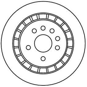 DF4337 Bremsscheiben TRW DF4337 - Große Auswahl - stark reduziert